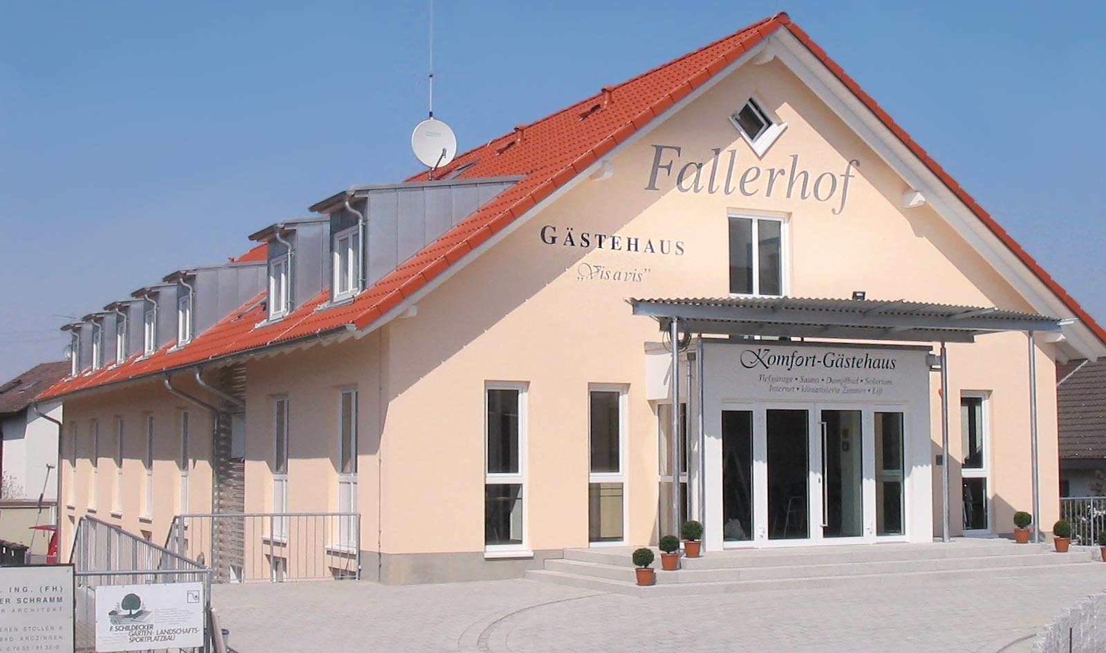 Gästehaus Hotel Restaurant Partyservice Fallerhof Bad Krozingen